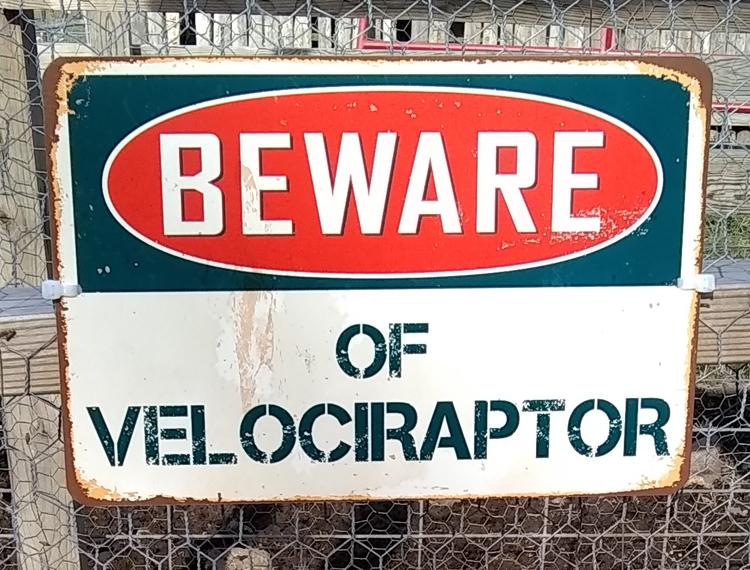 Velociraptor Bites!