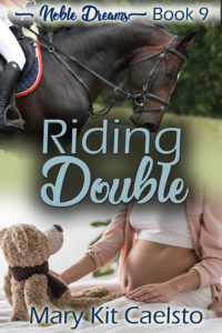 Book Cover: Riding Double (Noble Dreams Book 9)