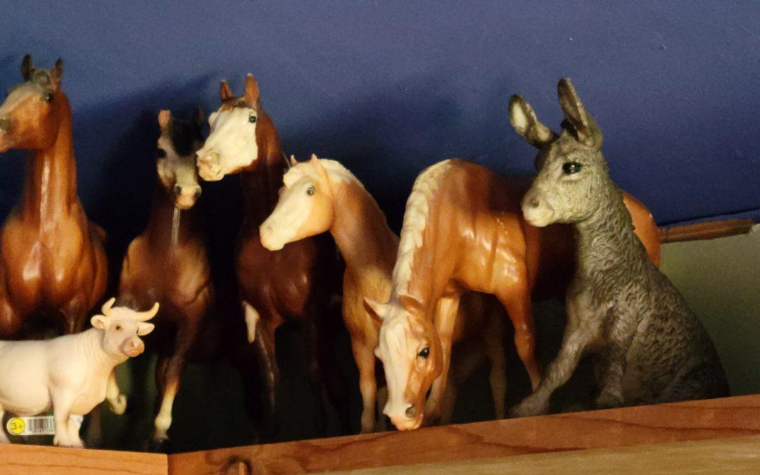 Family Breyer Horses